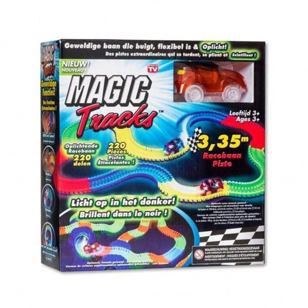 Magic Tracks Rood