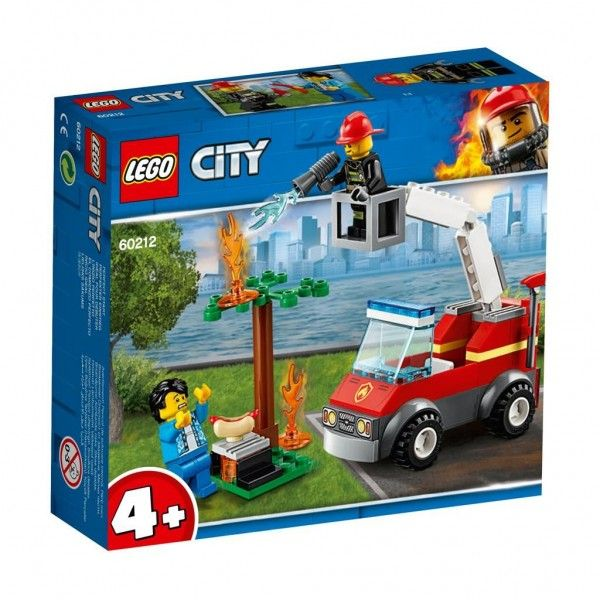 90212 Lego City Barbecuebrand Blussen