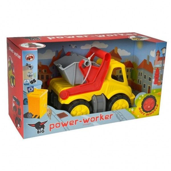 Truck Big Power Worker Container