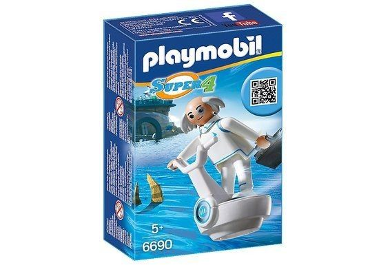 6690 Playmobil Super 4 Dr. X