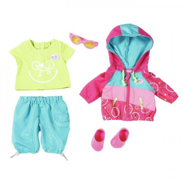 Baby Born Play&Fun Luxe Fiets outfit