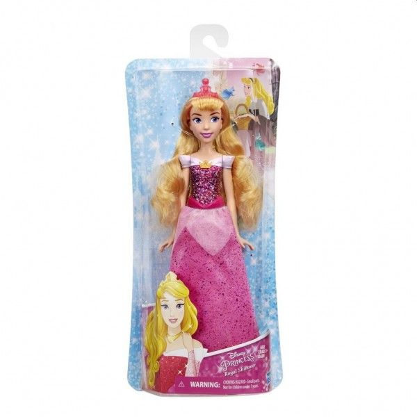 Hasbro Disney Princess Royal Shimmer Doornroosje 26 cm roze