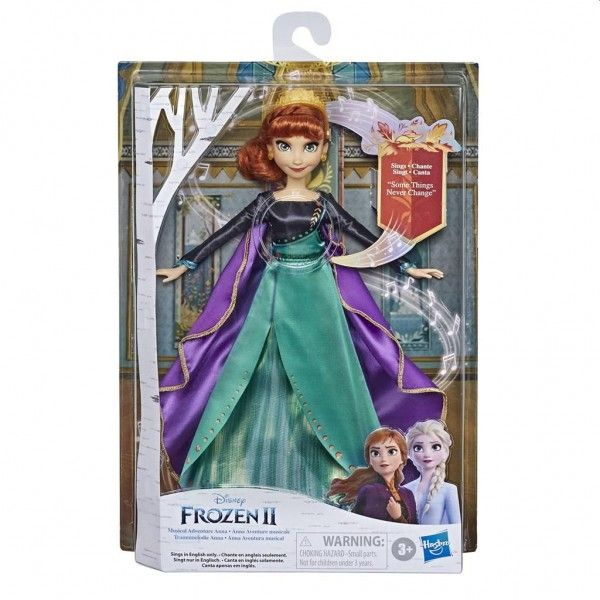 Hasbro Frozen 2 Musical Adventure Anna 35 x 23 cm multicolor