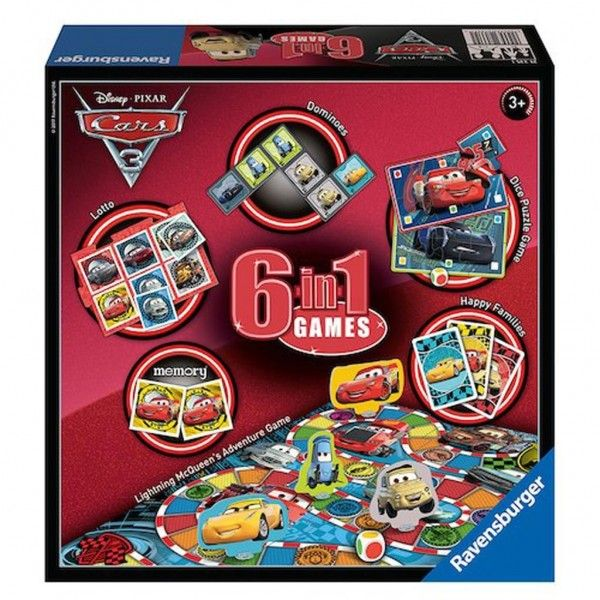 Ravensburger Spel Cars 3 6 In 1