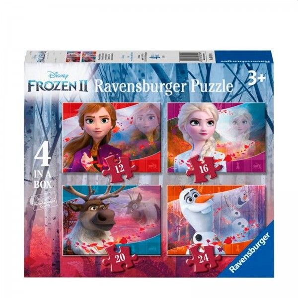 Ravensburger Puzzel Frozen 2 4in1 (12+16+20+24)