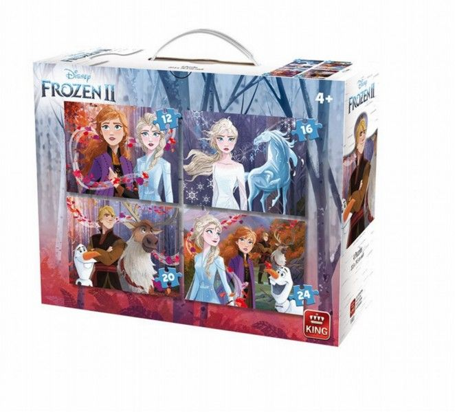 Puzzel Frozen 2 4in1 (12+16+20+24)