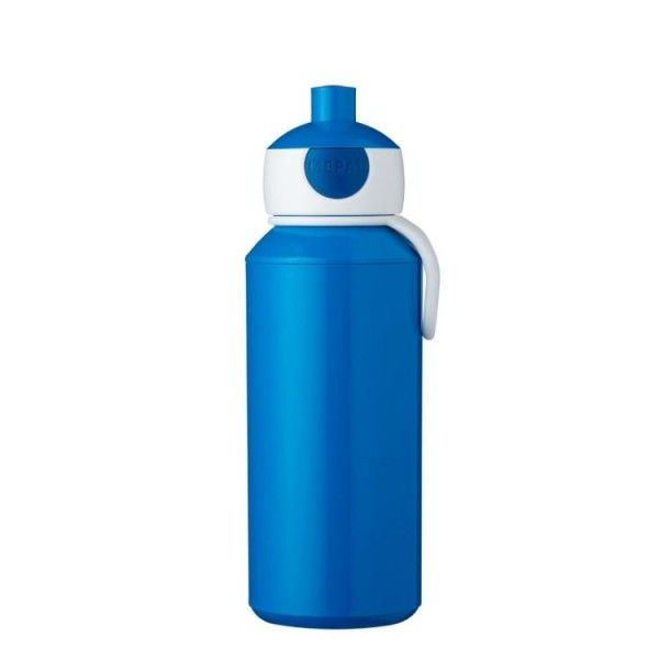 Drinkfles Pop-Up Blauw 400 ml