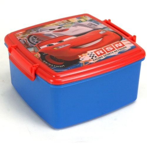 Cars Lunchbox Met Dubbele Clip
