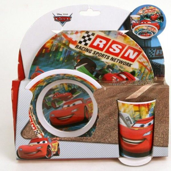 Cars Melamine set