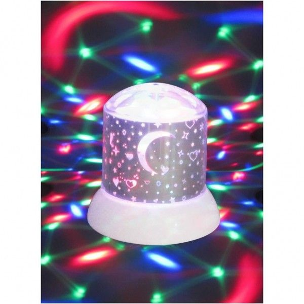 Disco Nachtlamp Galaxy Zwart
