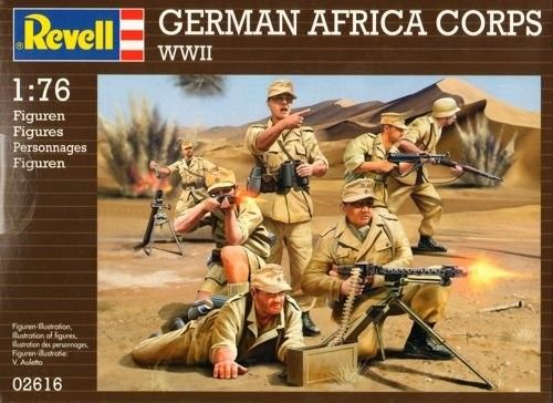 2616 Revell German Africa Corps WWII