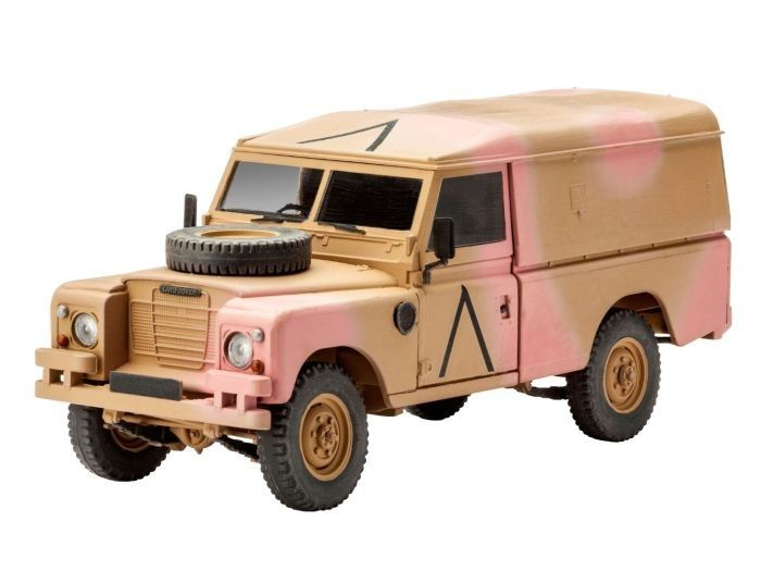 3246 Revell British 4x4 Offroad 190