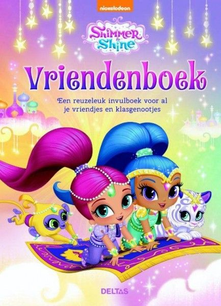 Shimmer And Shine Vriendenboek