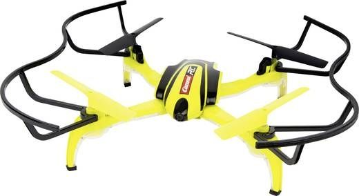 Carrera quadrocopter HD Next geel 36 cm