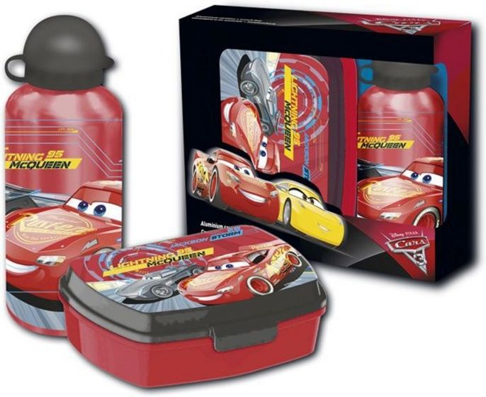 Disney Lunchset Cars 2 delig rood