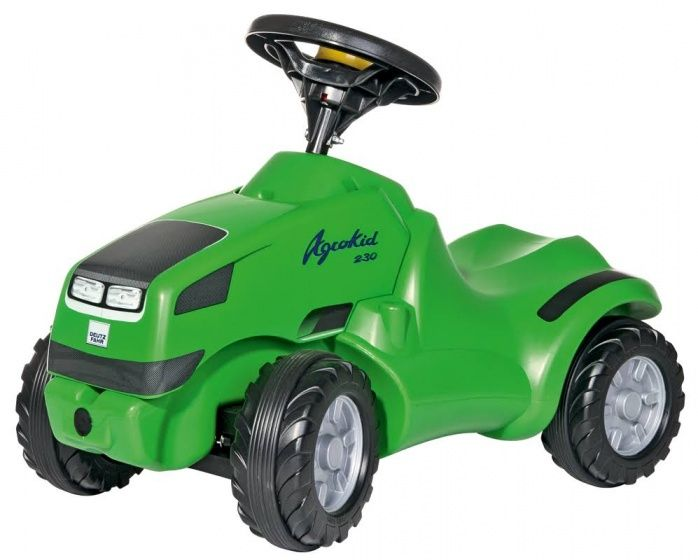 Rolly Toys looptractor RollyMinitrac Deutz Fahr Agrokid junior groen