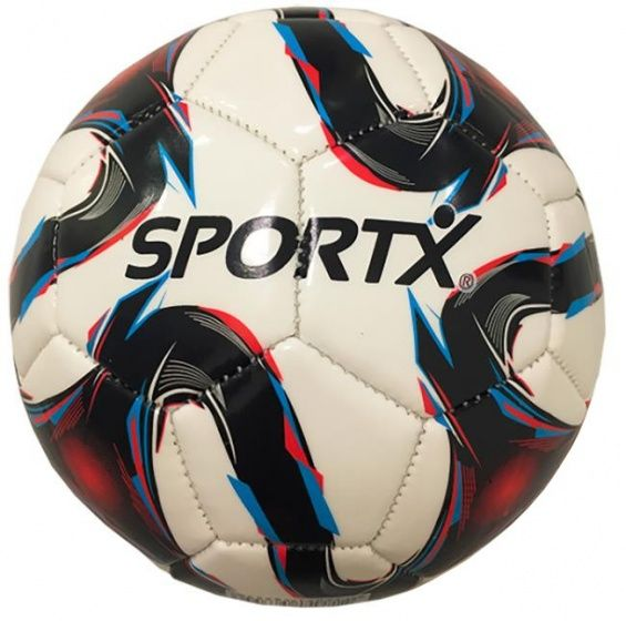 SportX voetbal Flame 22 cm wit