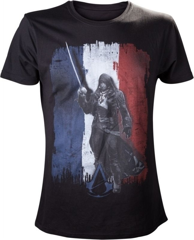 Assassin's Creed Unity Tricolore T-Shirt Black