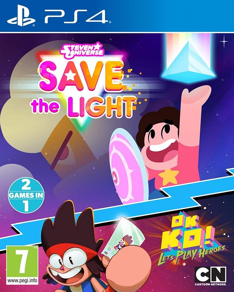 Steven Universe Save the Light + OK K.O! Let's Play Heroes