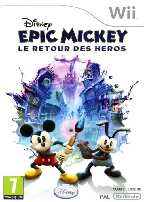 Epic Mickey 2 The Power Of Two (verpakking Frans, game Engels)