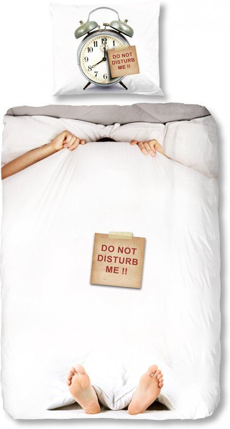 Dekbed Good Morning do not disturb 140x220 cm