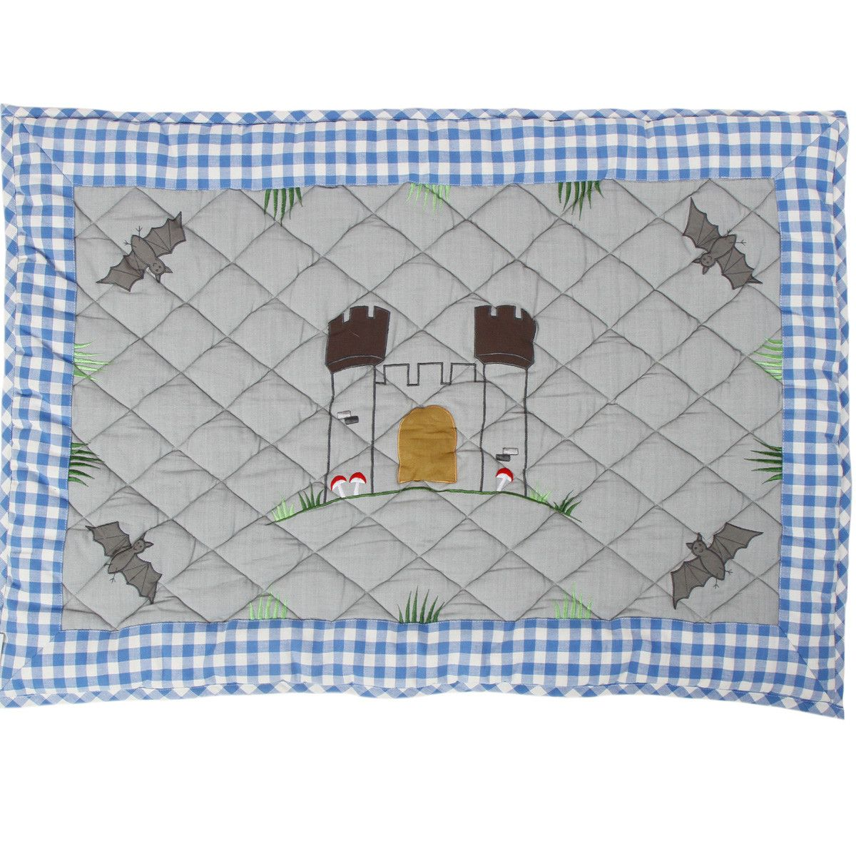 Knight's Castle Playhouse Floor Quilt (Win Green -klein)