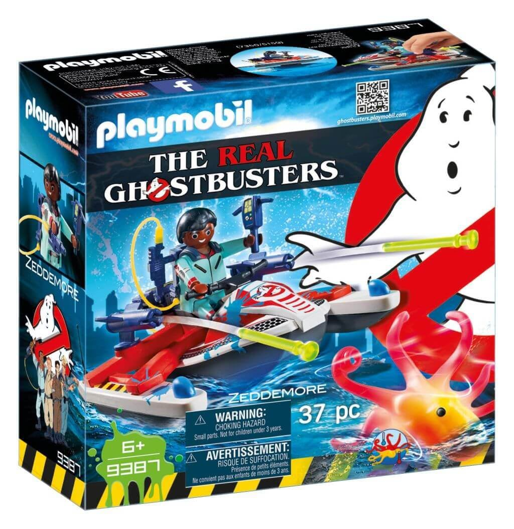 PLAYMOBIL Ghostbusters Zeddemore met waterscooter 9387